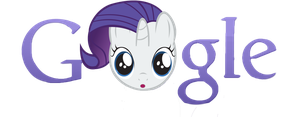 Filly Rarity Google Style by RainxChaser