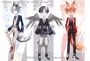 [ Auction OPEN ] Adoptable Kemonomimi by poosuwan