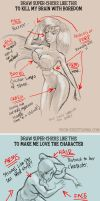 How To Draw Super Chicks by Krisztianna