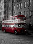 Edinburgh Vintage Bus by bormolino