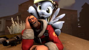 [SFM] Connors and Derpy by RaidonGuardian