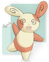 Spinda by foreverfornever740