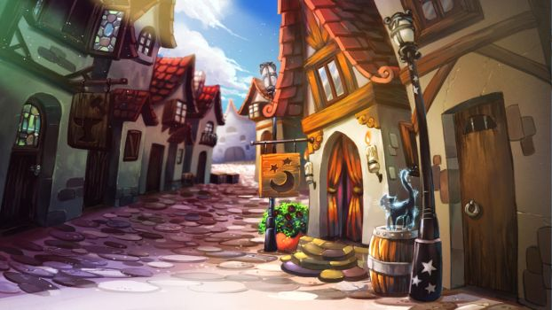 Another Town Concept by ZEBES
