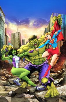 Portada comikaze hulks vs by HedwinZ89