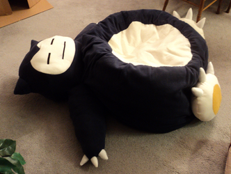 Snorlax Beanbag chair by SmellenJR
