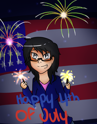 Happy 4th of July 2018! by DRAWINGGIRL10