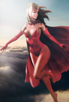Scarlet Witch by vincyWP