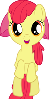 Apple Bloom Jumping by Racefox