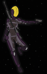 Dwar Corporation Bounty Hunter by TheReptilianGeneral