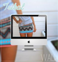 Wall Tribal by AleColorfulEditions