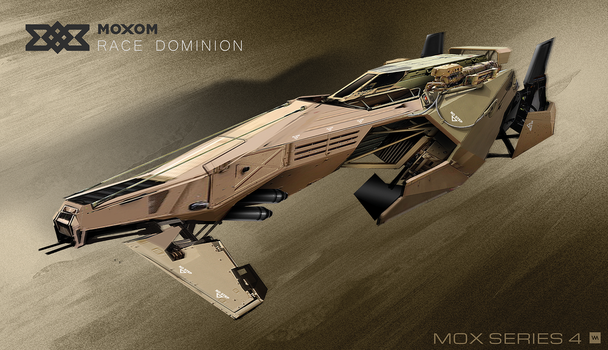 MOXOM - Race Dominion   MOX Series 4 by IllOO
