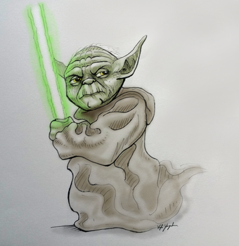 Do or do not, there is no try. by shewolf444