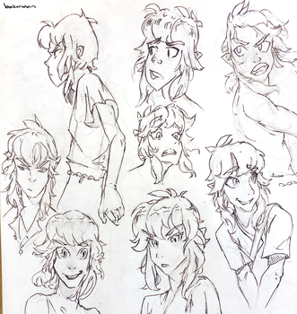Link doodles -- sketchbook by whizafriz