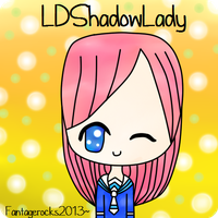 LDShadowLady (Lizzie)  Fan Art by fantagerocks2013