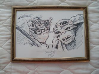 Movie Turtles sketch by CharmedSerenity