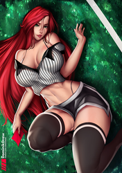 Katarina Red Card by Lord-Dominik
