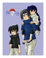the uchiha siblings by maple86