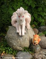 Wild Ninetales Appeared by Tedimo