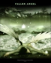 Fallen Angel by trappedillusions