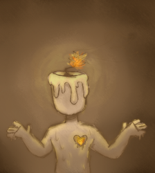 its a candle person i dont know by DoodlyDoodlerDoo
