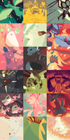 Pokemon Color Palette Thing