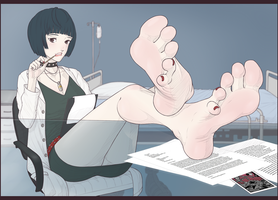 [Commish] Takemi by wtfeather