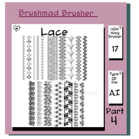 Illustrator Lace brush Part 4 by brushmad