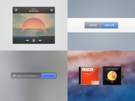 UI Goodies #3 (+PSDs) by jonarific