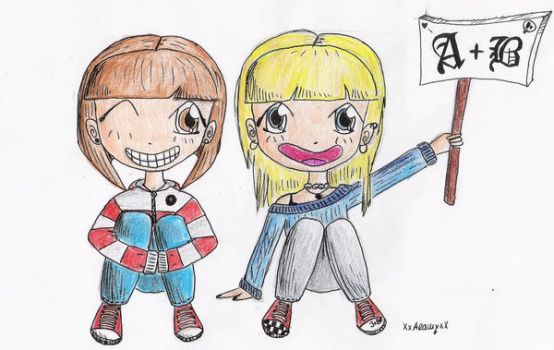 Betty And me by kiranna