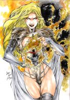 Emma Frost Phoenix by CaioMarcus-ART