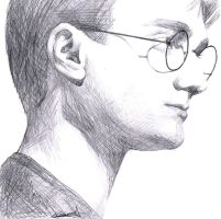 Harry Potter by PassionForDrawing