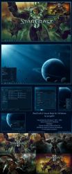 Starcraft 2 Windows Theme by yorgash