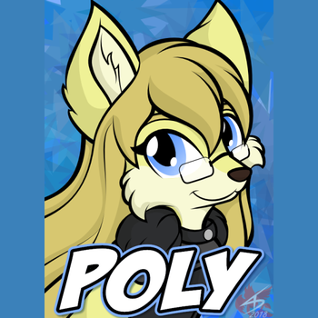 Badge - Poly by CindersDesigns