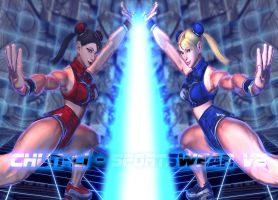 Chun-Li - Sportswear v2 - MOD - SFxTK by somebody2978