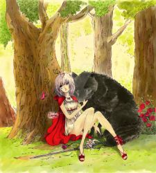 Red Riding Lune by Lunoira