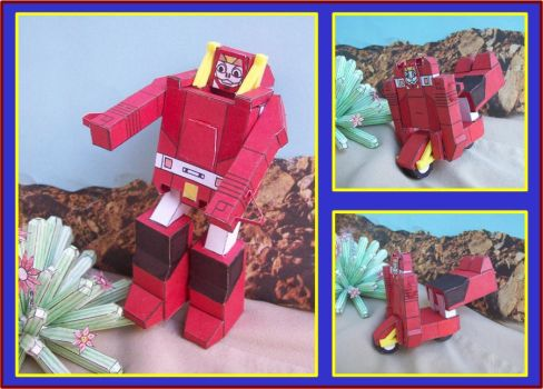 GOBOT-GUARDIAN-SCOOTER-EN-CARTULINA by Paperman2010