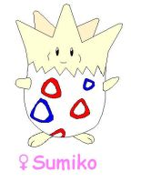 Sumiko the Togepi by BethStump