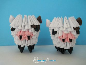 3D Origami - Cow by Jobe3DO
