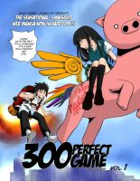 300 Perfect Game for Komikon '12 by gieph