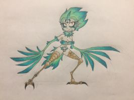 Rayman chronicles redesigned enemy: Harpy  by nathandlneumann