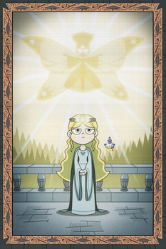 Helia, The Light of Power by jgss0109