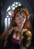 Zelda - The Legend of Zelda by Tarivanima