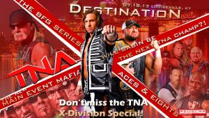 TNA Destination X 13 - 1600x900 by RedScar07