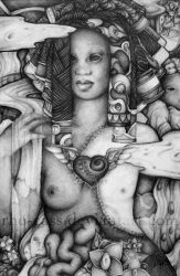 Birth of Attis by rho-cass