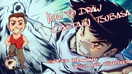 SPEED DRAWING CAPTAIN TSUBASA by marvelmania