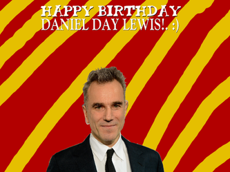 Happy Birthday Daniel Day Lewis! by Nolan2001