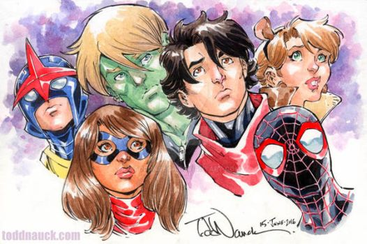 New/All New All Different Avengers by ToddNauck