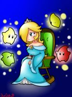 Storytime with Rosalina by NeonCelestia20