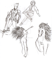 Sketches for July 31 2013 by Anomalies13