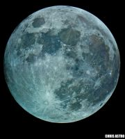 Full Moon by chrisastrophoto